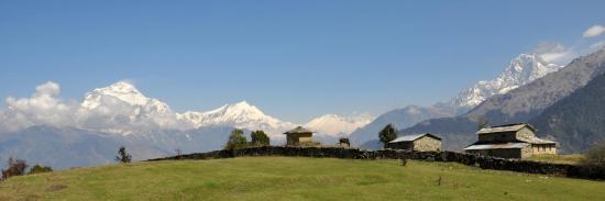 Un des plus beaux belvédères du Népal, non ?