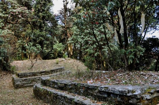 Passage au col de Nakako Bisaune