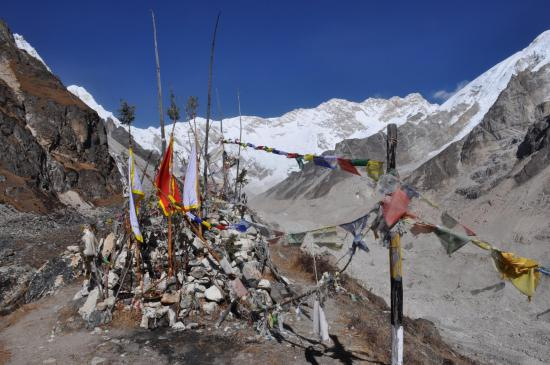 Le Kangchenjunga vu depuis Oktang, un lieu d'exception...