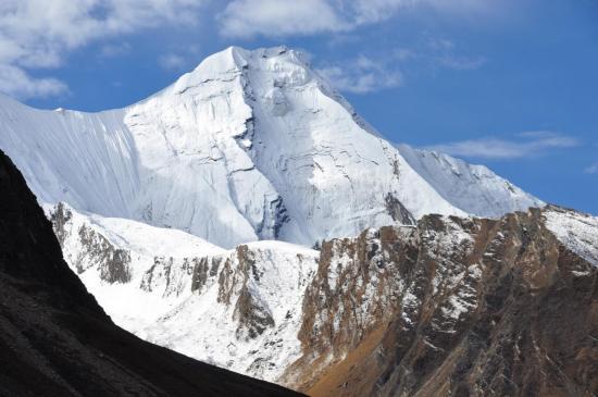 Le Paile himal depuis le camp de base du Kagmara La