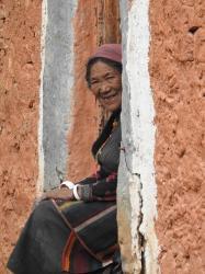 Les habitants de Shey Gompa