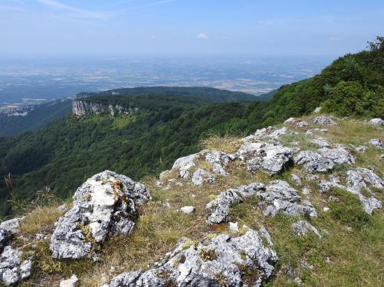 Sur les crêtes de la montagne de Mussan