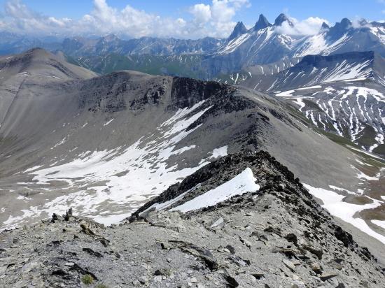 Au sommet du Pic du Mas de la Grave (3015m)