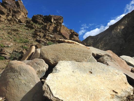 Murs de manis entre Chasip et Rakyo