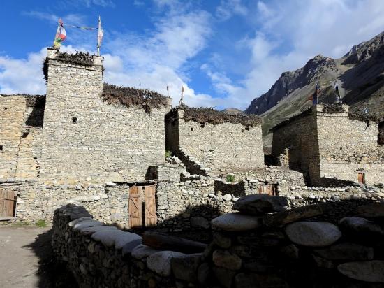 Le village fortifié de Chharka Bhot