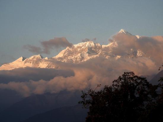 Les montagnes du Rolwaling et le Numbur