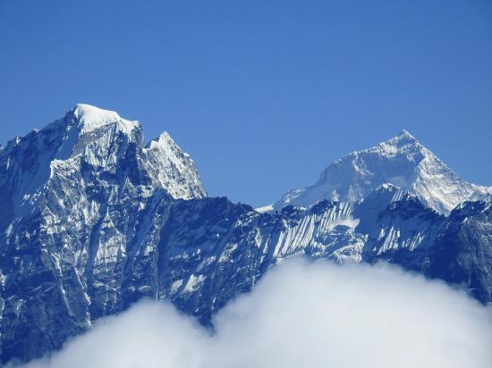 Le Makalu vu depuis le Pike peak I