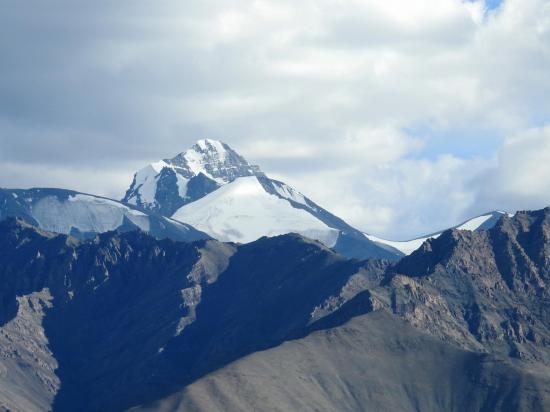 Le sommet du Stok kangri (6153m)