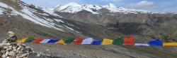 Panorama sur le Kang Yatse depuis le Chagstang La