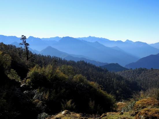 Panorama vers le S depuis le camp de Bakhim kharka