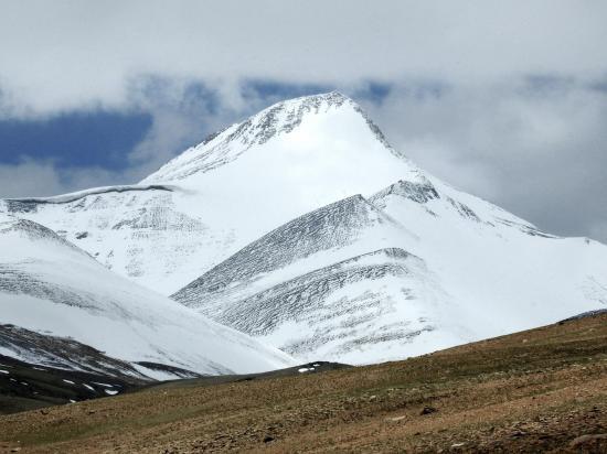 Le Lanyar peak vu de Gyama