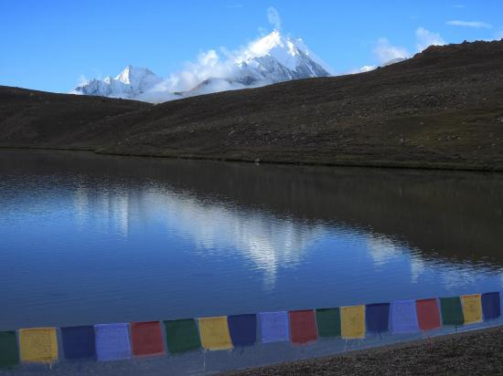Le lac de Chandra tal (Himachal Pradesh)