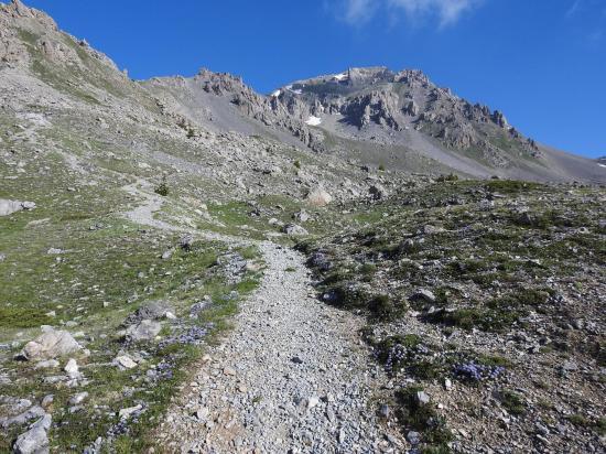 Le Grand Aréa vu du départ de la bergerie St Joseph