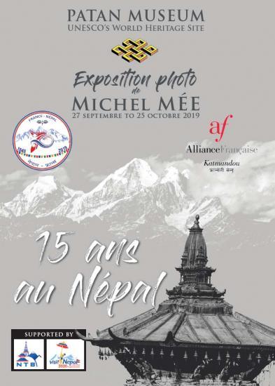 Expo Michel Mée au Patan museum