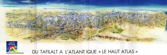 GTAM (source Le Haut-Atlas - A. Fougerolles - ed. Glénat)