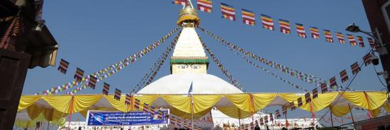 Inauguration bouddhanath
