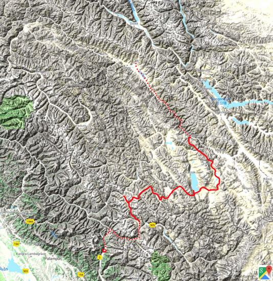 Inde himalayenne Indus-Chandra