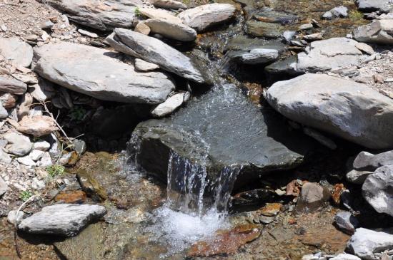 Il y a de l'eau partout...