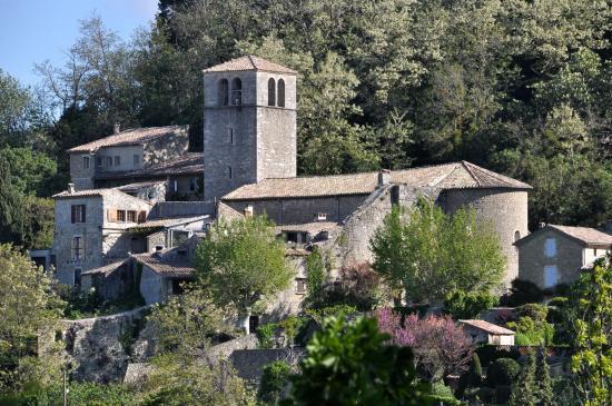 La chapelle de Chateauneuf de Mazenc