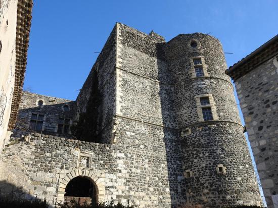 Alba-la-Romaine (château)