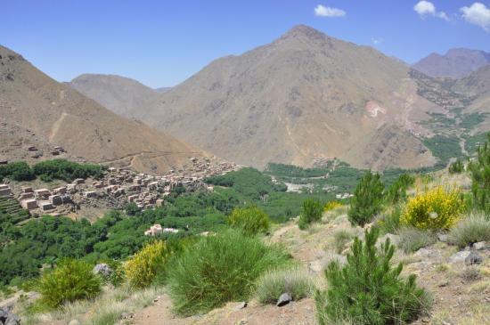 Le verte vallée d'Imlil