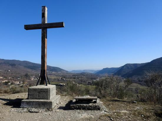 Vallée de l'Ouvèze (croix de Coux)