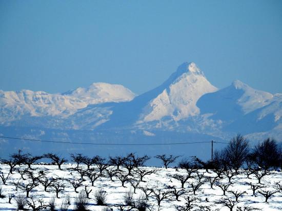 Depuis le Mont Froid, vue sur le Vercors (Grande Moucherolle)