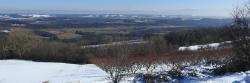 Le Vercors vu depuis la crête du Mont Froid