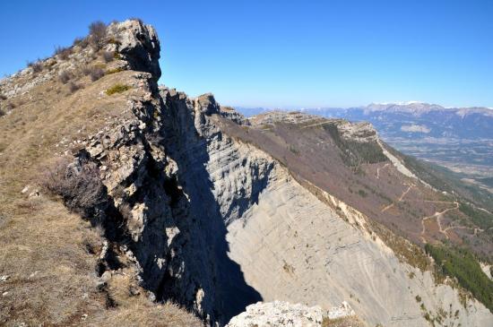 L'éboulement de la face E de la montagne de Boutarinard