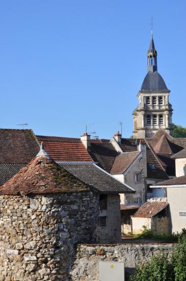 Par dessus les toits de Chézy-sur-Marne