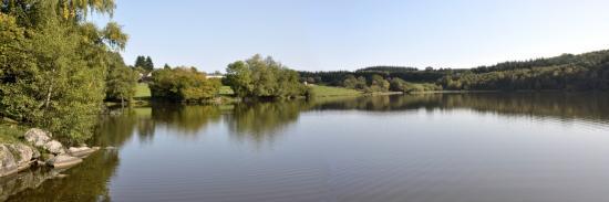 L'étang de Vauvillard (Uchon)