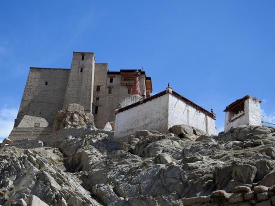 Leh (montée vers le Royal palace