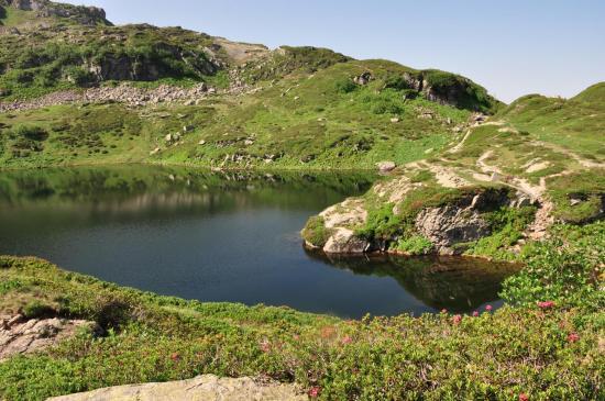 Le lac de Pormenaz