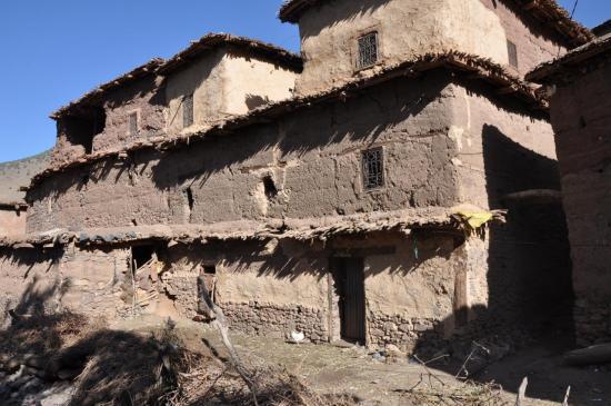 Maison du village d'Ameslane