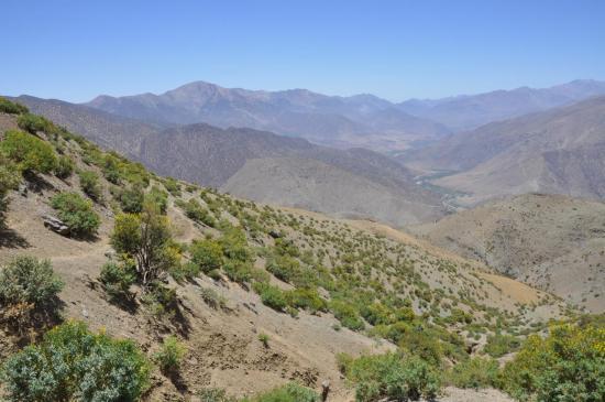 Descente vers la vallée de l'assif Iguidi