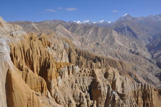 Panorama depuis la Siyarko Tangk danda