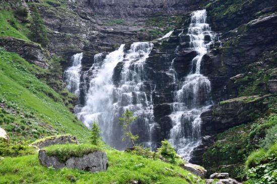 L'une des cascades du vallon de Sales