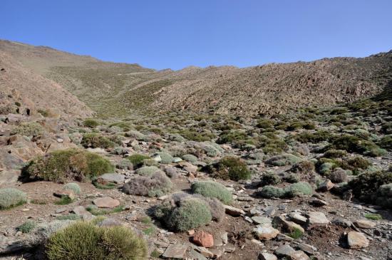 Camp au pied du tizi n'Ouddif