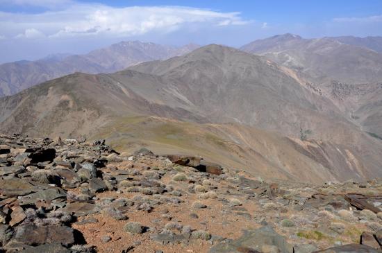 Vue depuis le sommet du Djbel Gourza