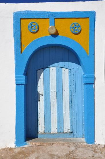 Porte de maison à Ait Bou Daoud