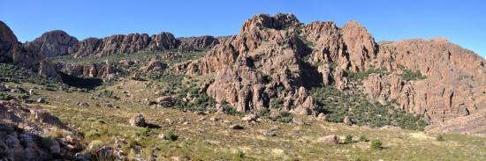 Descente des azibs Igouramene (Anti-Atlas - Maroc)
