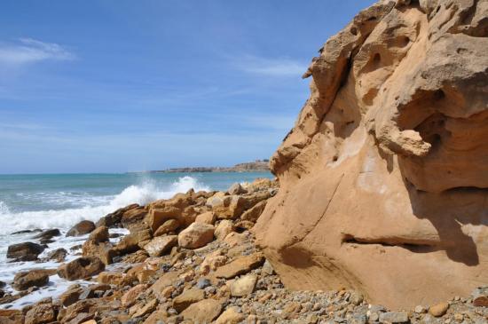 Au milieu des rochers avant Imssouane