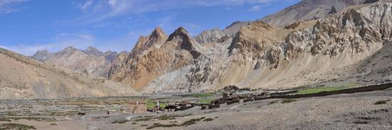 Dumbur, village de montagne croisé lors de la Grande Traversée du Zanskar