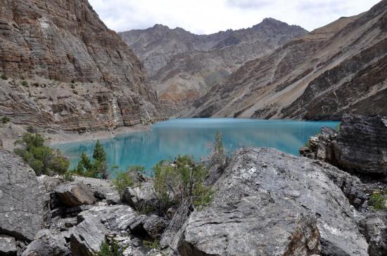 Le lac de Tsho Tok