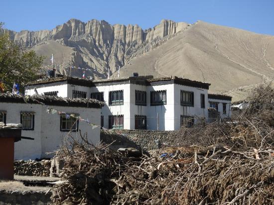 Un des nouveaux lodges à Ghemi