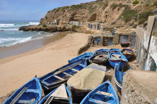 Le petit port d'Aftas Imarditsane