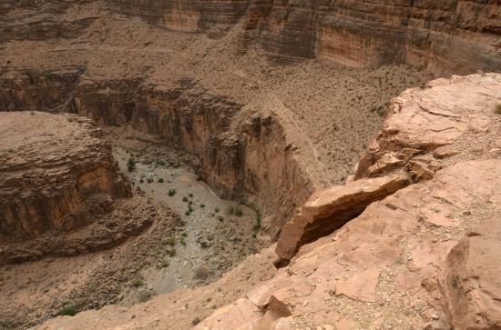 Le canyon d'Aoukerda
