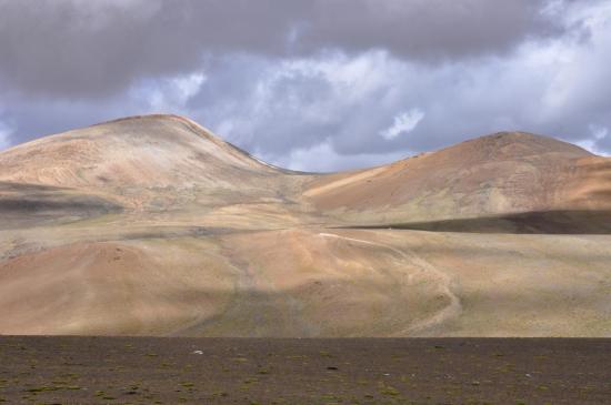 Arrivée sur le plateau du Yalung Nyau La
