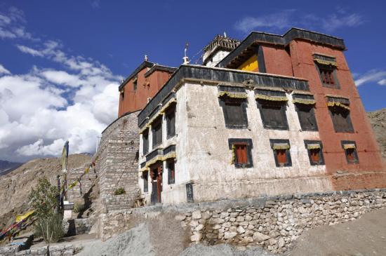 Gompa au pied du fort de Leh