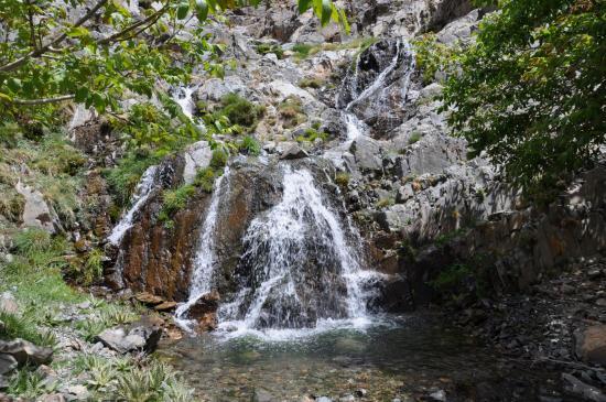 Cascade sous le tizi n'Tislit (Amendel)